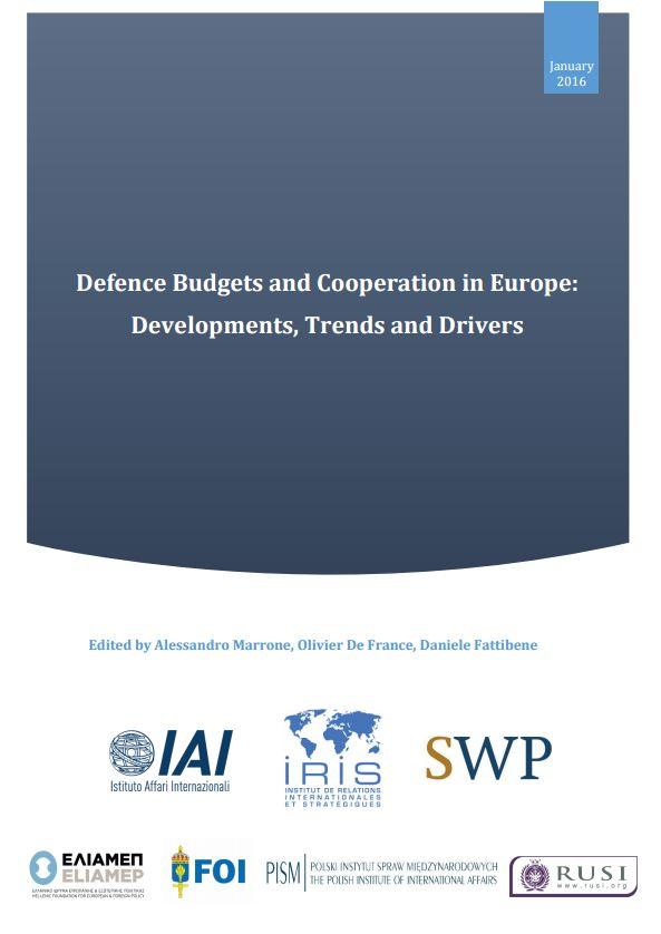Defence Budgets and Cooperation in Europe: Developments, Trends and drivers