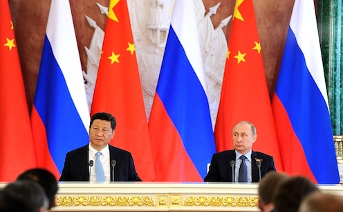 China and Russia assessing strategic convergence